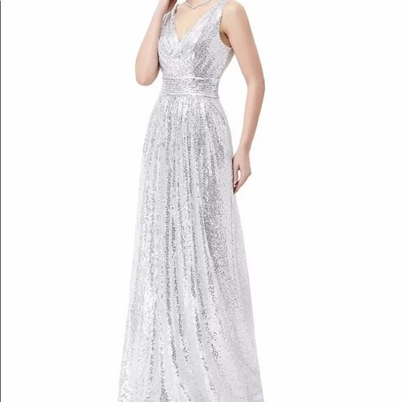 0409edc1004606 Kate Kasin Sequin Formal Dress